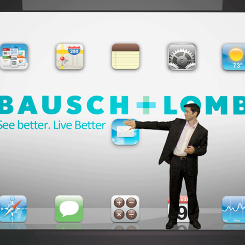 Baush and Lomb – iPad Training