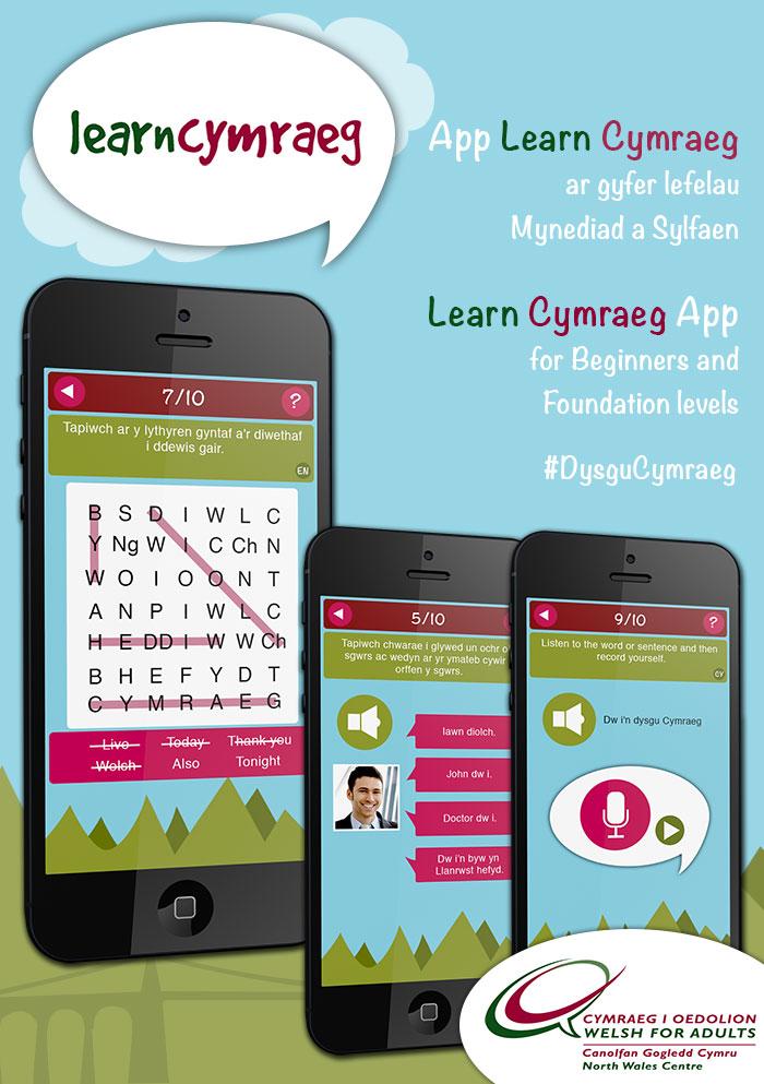 Learn Cymraeg App