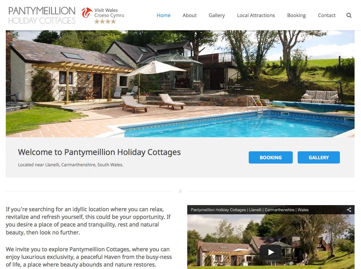 Pantymeillion Homepage