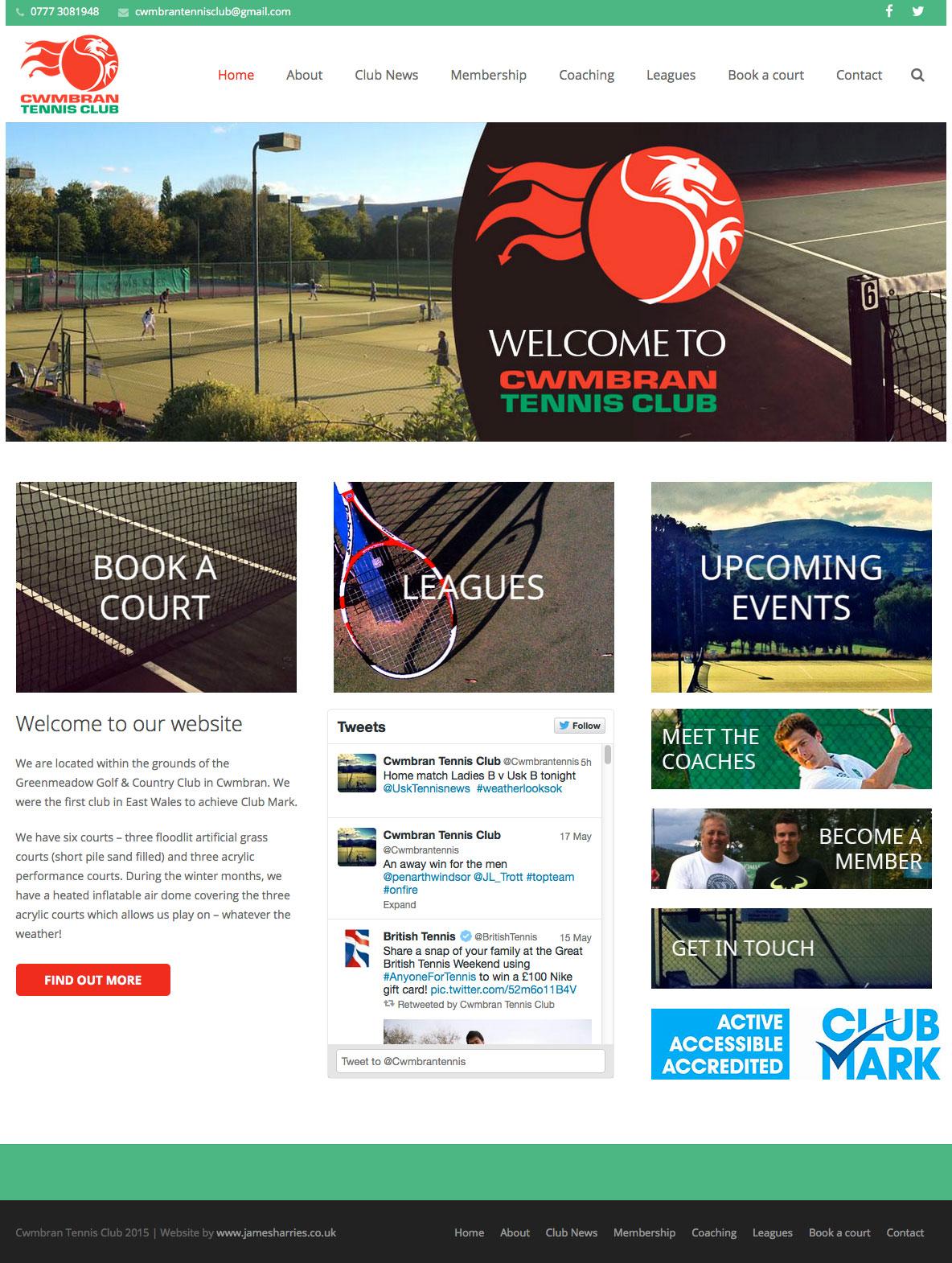 Cwmbran Tennis