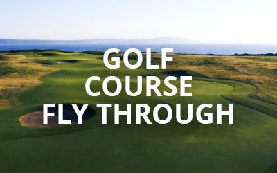 Golf Course Fly Through